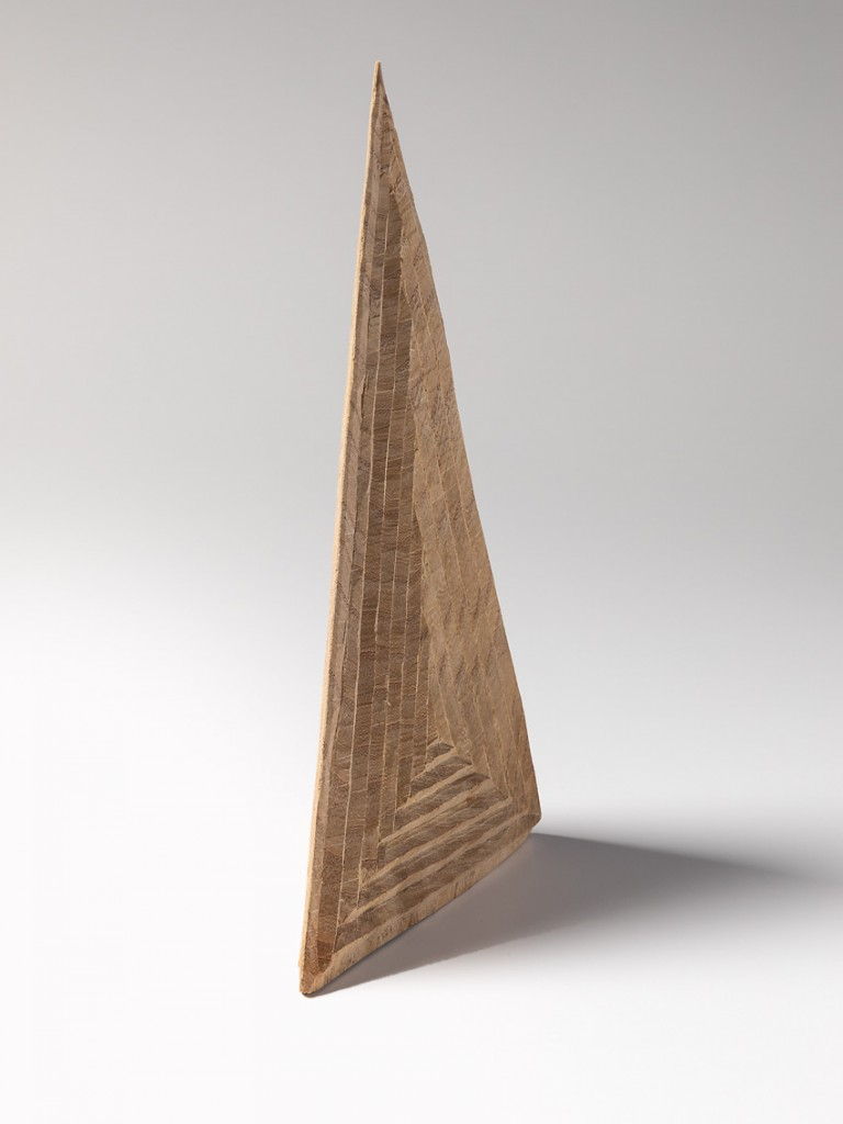 Vanishing Point, 2018 wood